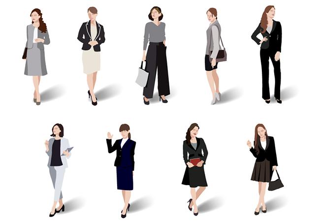 <p>女性が就職活動で着用するスーツはスカート派?パンツ派?どっちが良いか</p>